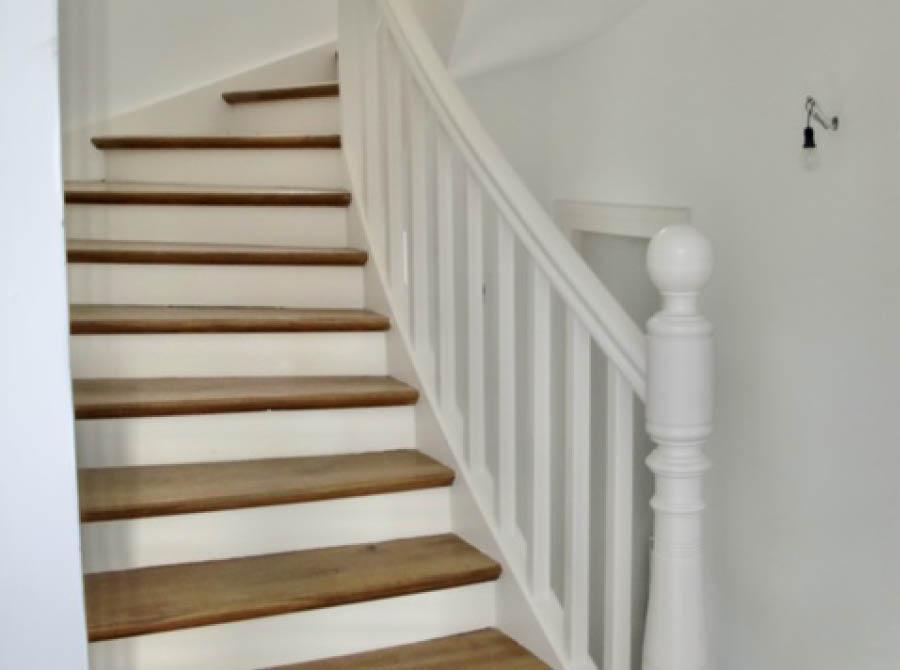 Restaurierung Treppengeländer