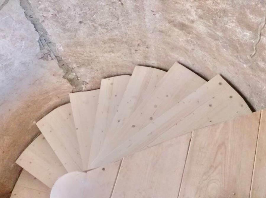 Treppenrestaurierung