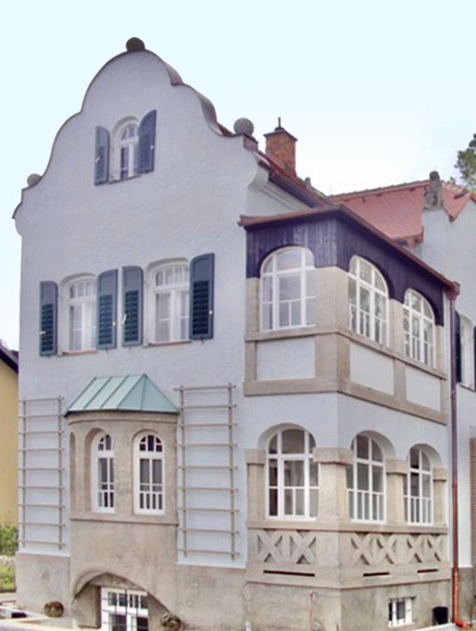 Denkmalpflege Villa Anna